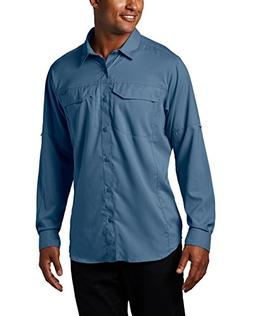 Columbia Men's Silver Ridge Lite Long Sleeve Shirt, Steel, X