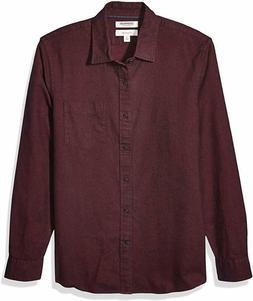Goodthreads Men's Slim-Fit Long-Sleeve Brushed Flannel Shirt