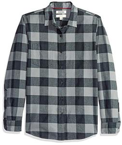 Goodthreads Men's Slim-Fit Long-Sleeve Brushed Flannel Shirt