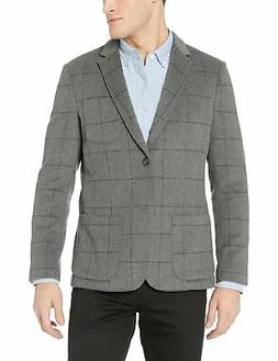 Goodthreads Men's Slim-fit Wool Blazer Heather Grey Windowpa