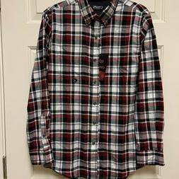 Chaps, Men's Soft Flannel Shirt, Size S, NEW