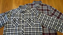 James Campbell Men's Flannel Shirts | Medium | Brand New Nev
