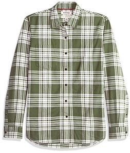 Goodthreads Men's Standard-Fit Long-Sleeve Brushed Flannel S