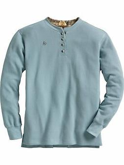 men s summit double collar henley shirt