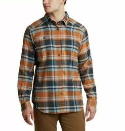 Columbia Men's Tall Size Cornell Woods Flannel Long Sleeve 4