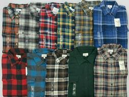 Men's Sonoma The Supersoft Flannel Long Sleeve Button-Up Shi