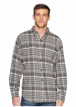 Men's Woolrich Trout Run Plaid Flannel Shirt XL