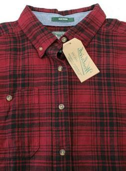 Men's Woolrich Trout Run Plaid Flannel Shirt XL