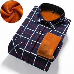 Loldeal Men's Winter Long Sleeve Plaid <font><b>Flannel</b><