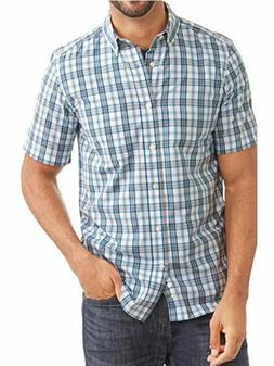 George Men's Wrinkle Resistant Short Sleeve Shirt-3XLT 46-48