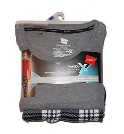 Hanes Men's X-Temp Long Sleeve Thermal Top & Micro Fleece Pa