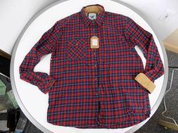 Gioberti Men's XLT Flannel Plaid Shirt Red/Green/Blue cordur
