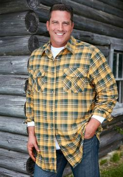 Mens KINGSIZE Brand Flannel Shirts  3x Tall  4 colors to cho