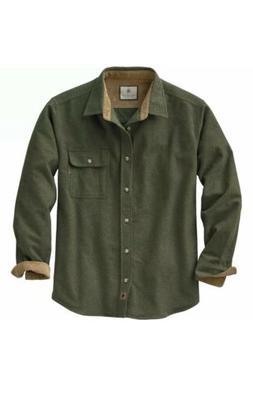 Legendary Whitetails Men's Buck Camp Flannel Shirt Hunters