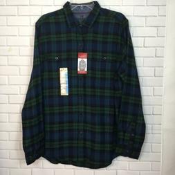 Woolrich Men's Classic Fit Ultimate Flannel Shirt Sz Large