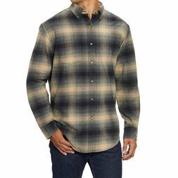 Pendleton Men's Cotton Flannel Shirt - GREEN  FAST SHIPPIN