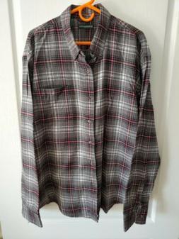 Mens Bass Flannel Shirt - 2XL