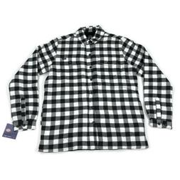 Dickies Mens Flannel Shirt Lined Jacket Modern Fit  Black Wh