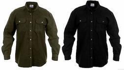 Mens Flannel Shirts Long Sleeve Shirt Heavyweight Rothco 463