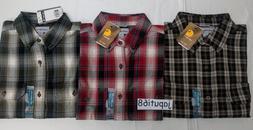 Carhartt Mens Fort Plaid Long Sleeve Button down Shirt  Free