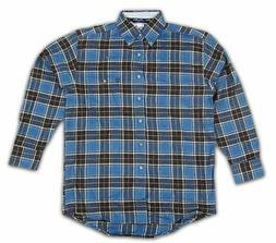 Mens Wrangler George Strait Long Sleeve Flannel Shirt MGS07B