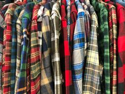 Wrangler ~ Mens heavy weight flannel shirts