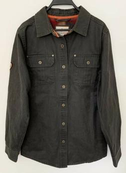 LEGENDARY WHITETAILS Mens Journeyman Rugged Shirt Jacket Fla
