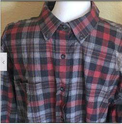 Pendleton Mens Landry Wool/Cotton Blend Long Slv Flannel But
