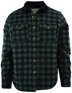 Mens Premium Button Down Flannel Long Sleeve Shirt