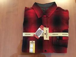 Woolrich Men's Red Flannel Shirt Size Medium NWT