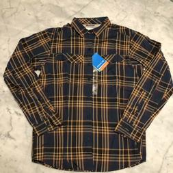 Columbia Men's Shirt Silver Ridge Flannel Shirt Long Sleev