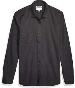 Goodthreads Mens Shirt, Slim-Fit Long-Sleeve Brushed Flannel