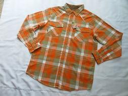 Legendary Whitetails Mens Shotgun Western Flannel Shirt XLT