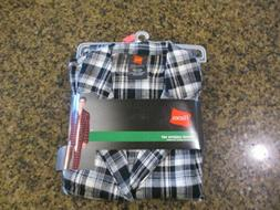 mens small flannel pajama set long sleeve