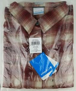 Mens Columbia Sportswear Boulder Ridge Flannel Shirt Size XL