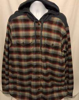 mens xl oheny heavyweight flannel long sleeve