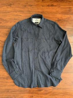 Rogue Territory Navy / Gray Flannel Workshirt Hunter Shirt