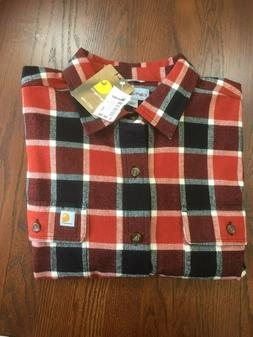new 102815 hubbard plaid heavy flannel shirt
