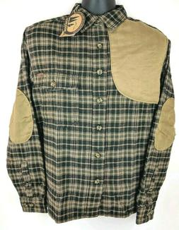 NEW Woolrich Flannel Plaid Shooting Padded Hunting Long Slee