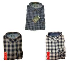 NEW!! G.H. Bass & Co. Men's Flannel Long Sleeve Button Down