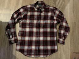 New Men's G.H. Bass flannel shirt size large