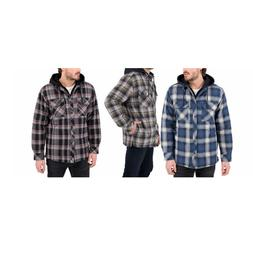 NEW!! Boston Traders Men's Quilted Lining Flannel Shirt Jack