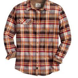 New Legendary Whitetails Mens Flannel Flip Cuff Button Down