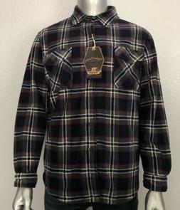 New Freedom Foundry Men's Super Plush Fleece Shirt Jacket