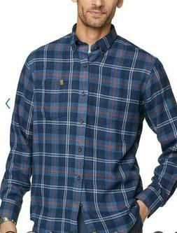 new mens xl soft plaid flannel shirt