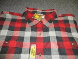 NEW NWT MENS CARHARTT ORIGINAL FIT BUTTON DOWN FLANNEL SHIRT