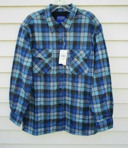 New W/Tags Original PENDLETON Board Shirt Virgin Wool Flanne