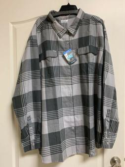 NEW W TAGS - Columbia Silver Ridge 2.0 Omni Wick Flannel Shi