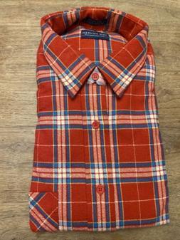 NEW Van Heusen Winterweights Flannel Shirt Men's Large- 10