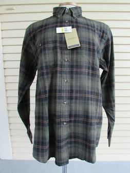 NEW WITH TAGS - PLAID FLANNEL G. H. BASS & CO. SHIRT - SIZE